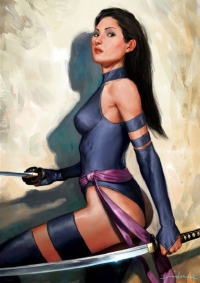Psylocke from AndreaMeloni