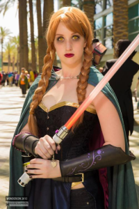 Brooke Rector as Sith/Anna of Arendelle