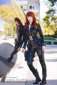 Acenelson07 as Black Widow