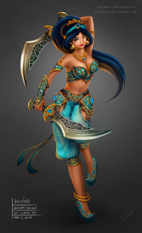 Princess Jasmine from Gladzy Kei