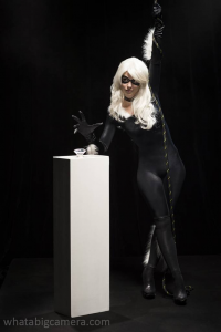Bad Luck Kitty as Black Cat