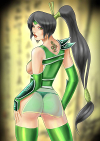 Akali from Claw333Ayane