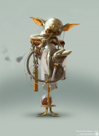 Yoda from Bjorn Hurri