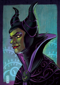 Maleficent from Audrey Molinatti