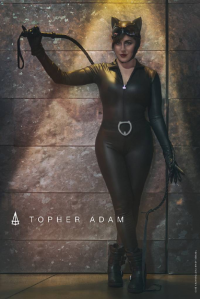 Agent Paradox as Catwoman