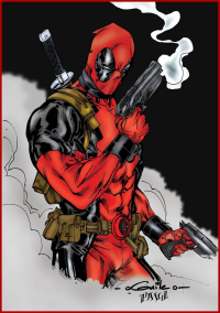 Deadpool from Pascal Verhoef