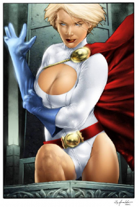 Power Girl from Sean Ellery