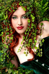 Leah Burroughs as Poison Ivy