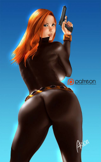 Black Widow from Arionart