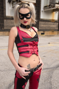 Evelyn Doll83 as Harley Quinn