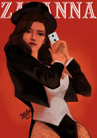 Zatanna from Anurachen