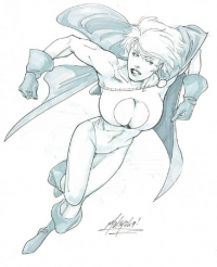 Power Girl from Cerebus873