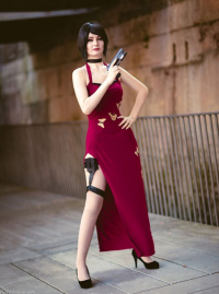 Unknown Female Artist as Ada Wong