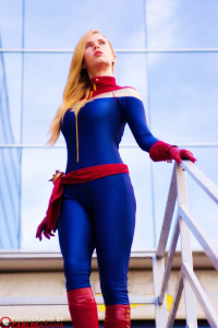 Florencia Jillian Sofen as Captain Marvel