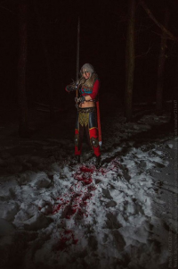 Greed16 as Ciri