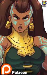 Illaoi from Kyoffie Ilustrator