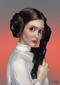 Leia Organa from Eyald