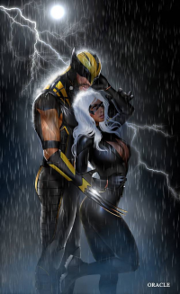 Wolverine, Storm from Mystic Oracle