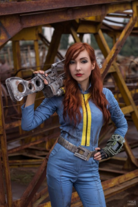 atomic-cocktail as Vault Dweller