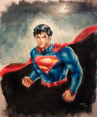 Superman from Andre-vaz