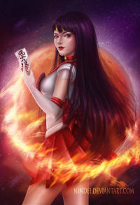 Sailor Mars from Nindei