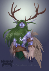 Malfurion Stormrage from Serbeebeast