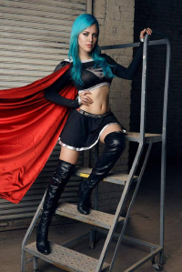 Nadya Sonika as Dark Supergirl