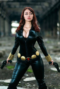 Camille Sayeko as Black Widow