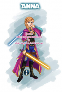 Anna of Arendelle/Jedi from White-Magician
