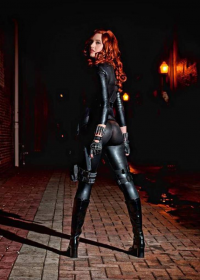 Leah Burroughs as Black Widow