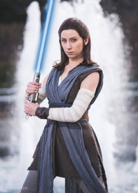 Aly Cat Cosplay as Rey, Sebastienchiu as unknown character