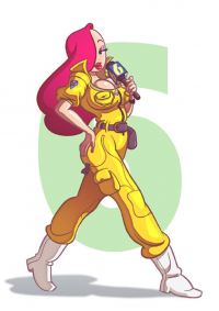 Jessica Rabbit/April O'Neil from Andrew Dobson