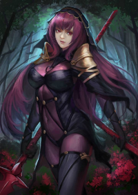 Scathach from Zoma Yuan