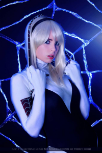 Florencia Jillian Sofen as Spider Gwen
