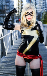 Tali Xoxo as Ms. Marvel