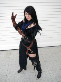 D2SCosplay as Yennefer