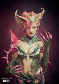 Issabel Cosplay as Zyra