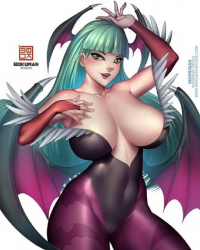 Morrigan Aensland from Bokuman