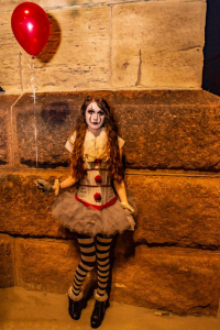Crimson Ember Belle as Pennywise
