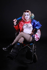 Ally Way Cosplay as Harley Quinn