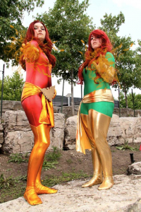 Nikkimomo's Cosplay as Phoenix, Firestarter Cosplay as Dark Phoenix