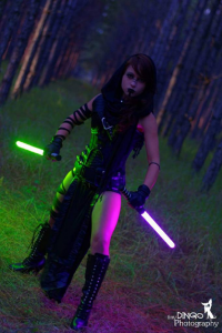 Colossal Smidgen Cosplay as Sith