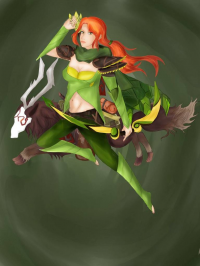 Windranger from Ashley Solis