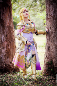 Layze Michelle as Princess Zelda/Battle Armor