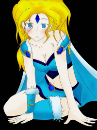 Crystal Maiden from Exthalia