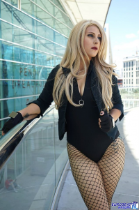 Miss Lotte Grondahl as Black Canary