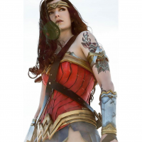 Azur Cosplay as Wonder Woman