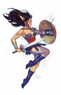 Wonder Woman from Elias Chatzoudis