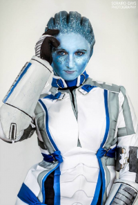 Danica Rockwood as Liara T'Soni