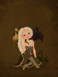 Daenerys Targaryen from Christine E.